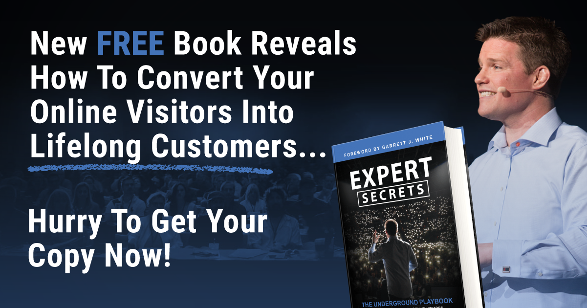 Traffic Secrets Book Sign Up